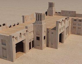 3D UAE old Building