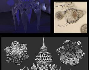 haeckel cyrtoidea GolemKlonVIII 3D printable model