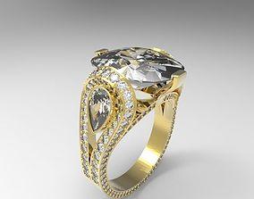 3D print model Ring precious