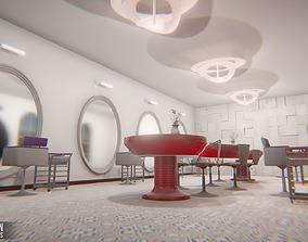3D asset Beauty salon - interior and props