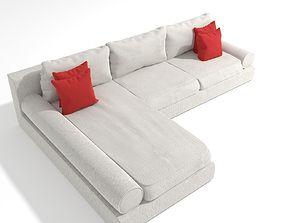 3D asset Corner Sofa 03 - 4k PBR