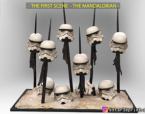 The MANDALORIAN 2019 - Stormtrooper - 3D printable model 5