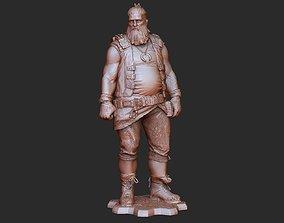 Oscar Diaz Gears of War 3D Model STL File 3D Print