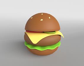 Burger v1 002 3D asset