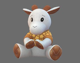 3D model Goat Plush Toy