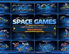 3D Space - GAMES - MEGAPACK
