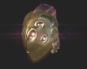3D asset Steampunk Fishy Helmet