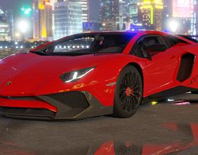 Lamborghini Aventador LP750-4 Super Veloce sport 3D