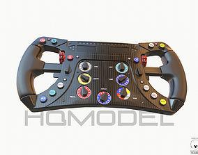 F1 Steer Wheel Generic Formula Race 3D asset