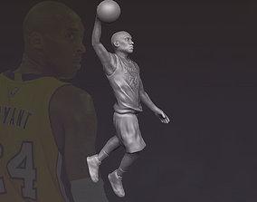 Kobe Bryant 3D printing ready stl obj formats sculpture