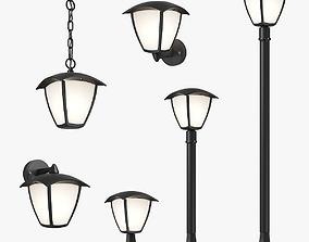 3D 375 Lampione Lightstar street lamp Collection