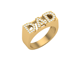 ring for daddy 3d print model