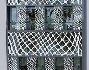 Office buildings project 3D model