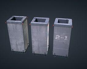Mars KitBash - Power Plant 3D asset