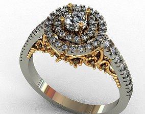Diamond ring solidscape 3D printable model