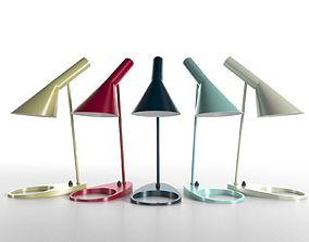 AJ Table Lamp white 3D model