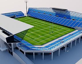 Kumagaya Rugby Ground - Japan 3D model