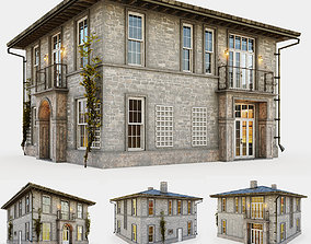 3D Vintage cottage in Provence style
