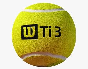 tennis Tennis Ball 3D model low-poly