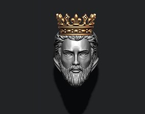 King ring corona 3D printable model