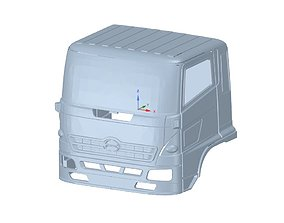 Truck Cabin 3D print model hobby-diy