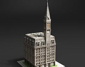 3D model 19th Century American Building