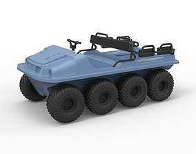 Diecast Argo 750 HD 8x8 Scale 1 to 18 3D print model