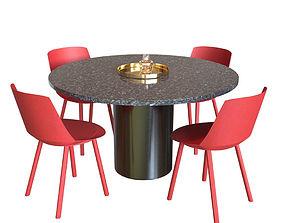 3D model Hiroki Table