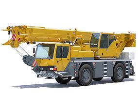 3D Mobile Crane Liebherr LTM 1040 2 1