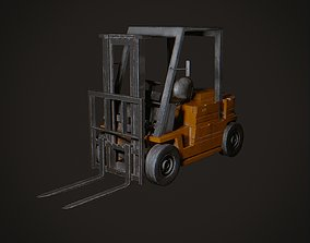 3D model realtime PBR Forklift