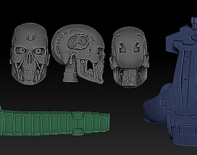 parts T-800 ENDOSKELETON IN PARTS - FOR 3D PRINT