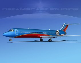 Boeing 717-200 Southwest Airlines 3D model