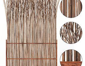 Screen thin branch wood decor n2 3D