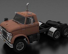 N-Series NT-950-D Semi Truck 1963 3D model