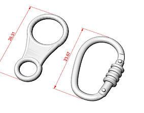 anchor 3D printable model Bracelets