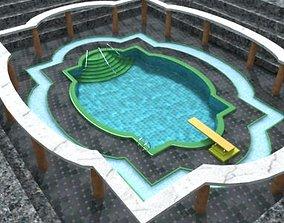 3D Inground swimming pool