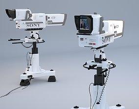 Professional SONY BVP 9000 STUDIO CAMERA 3D