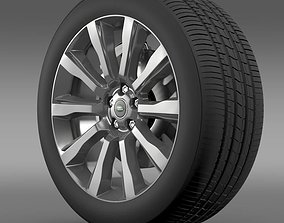 3D model RangeRover Supercharged wheel