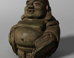 Laughing Buddha Statue 3D