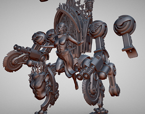 Space Nun Punishment engine 3D printable model