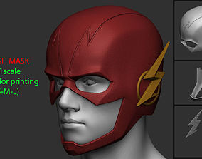 3D print model Flash Helmet - Justice League