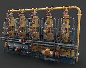 Machinery device 3D PBR