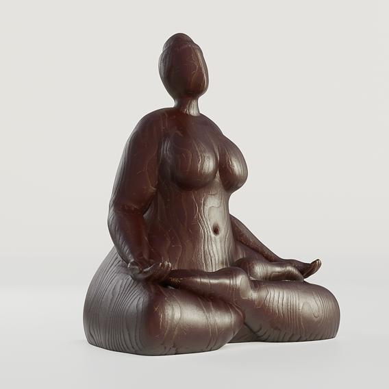 Lady yoga