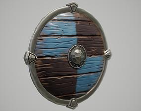 3D model Stylized Viking Shield