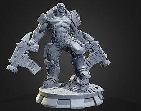 Orc Cyborg printable