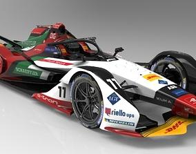Formula E 2018-2019 TEAM Audi Sport ABT 3D asset