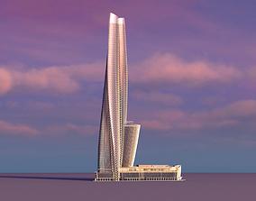 3D model Crown Sydney Hotel And Resort