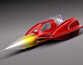 Turbo Sonic Concept Car Free Sample Model 3D