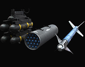 3D Aircraft Weapons All-Inclusive