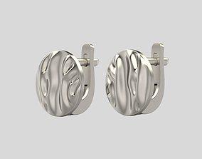 3D printable model Earrings folds